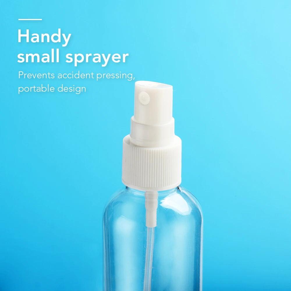 100ml plastic pet sanitizer pump spray bottle